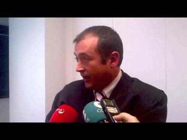 Eduardo Ruiz de Erenchun, tras el veredicto del jurado popular