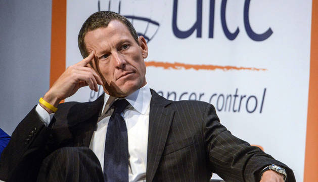 El exciclista Lance Armstrong