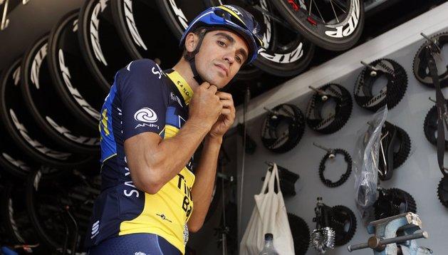 Alberto Contador está preparado para la batalla con Chris Froome en el Tour de Francia