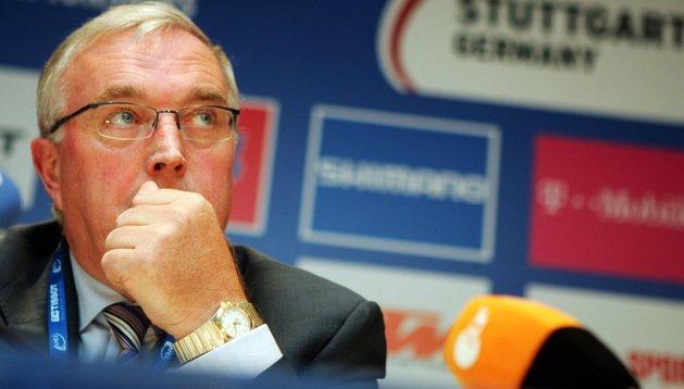 Pat McQuaid, presidente de la UCI