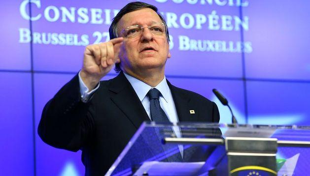 l presidente de la Comisión Europea José Manuel Barroso.