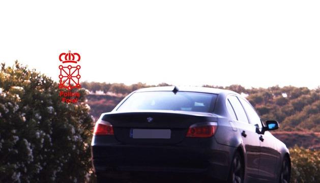 Imagen del vehículo captada por el radar