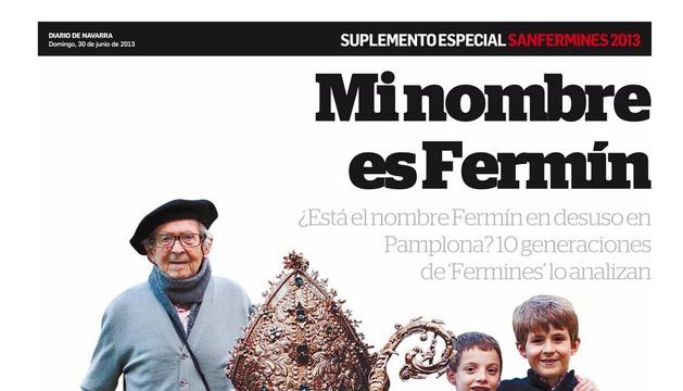 Este domingo, especial de San Fermín con Diario de Navarra