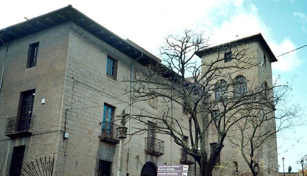 Palacio de los Mencos de Tafalla.
