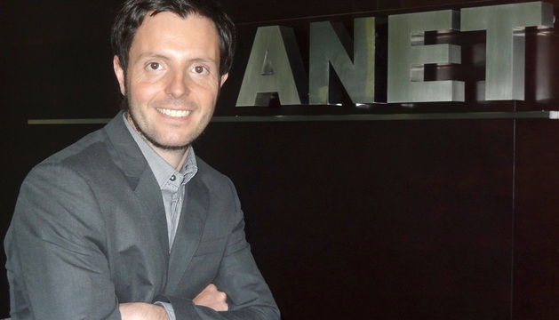 Miguel Suárez, presidente de ANET.