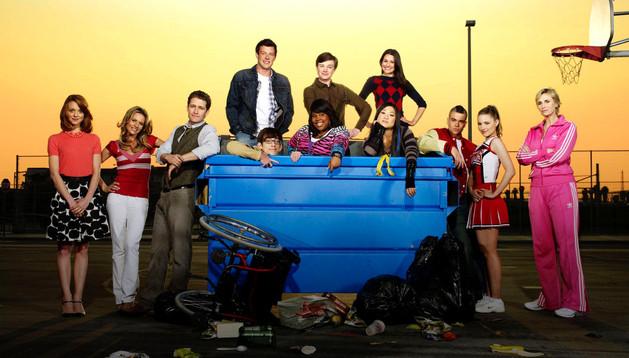 Los actores de la serie Glee