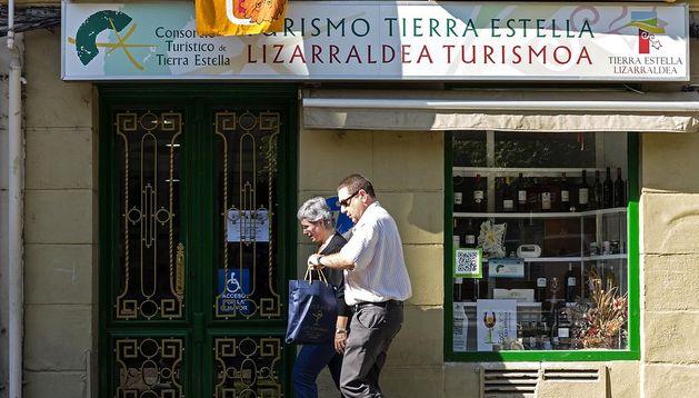 Punto de información turística de Tierra Estella.