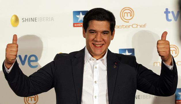 Juan Manuel, ganador del programa de televisión
