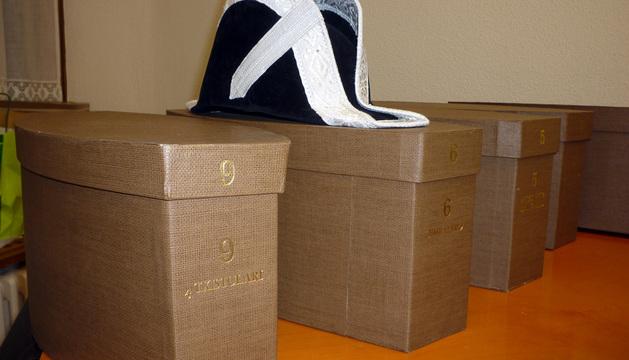 Sombrereras nuevas para San Fermín 2013