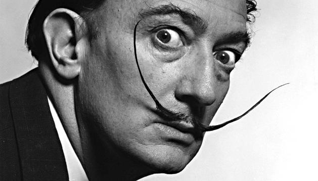 El pintor Salvador Dalí