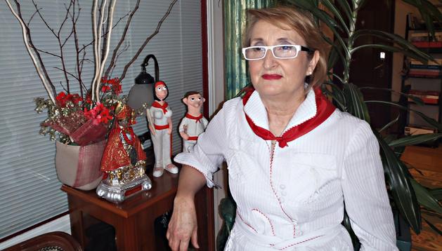 Carmen Ibáñez Ursúa, modista del Ayuntamiento de Pamplona