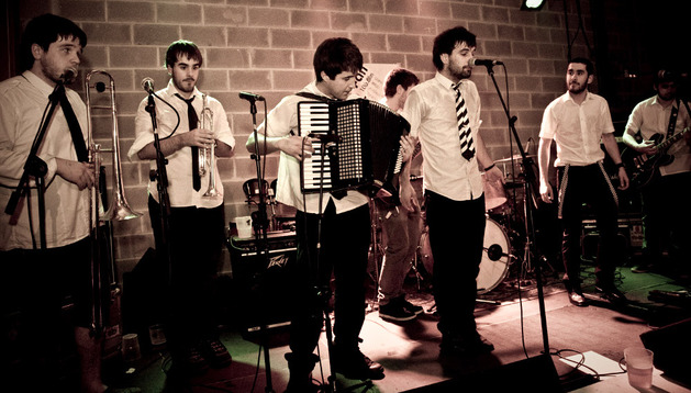 El grupo musical Skasty