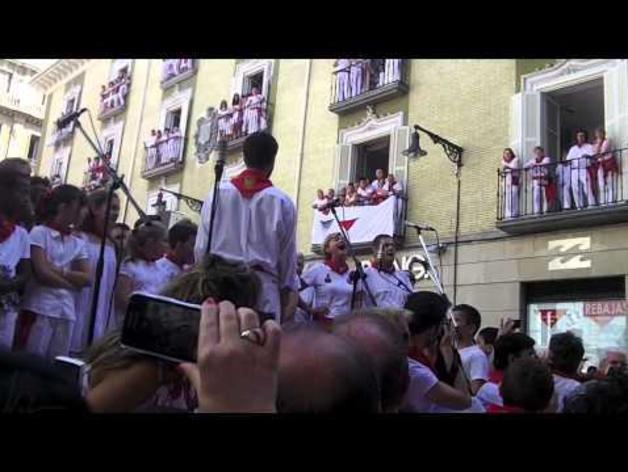 Jota a San Fermín