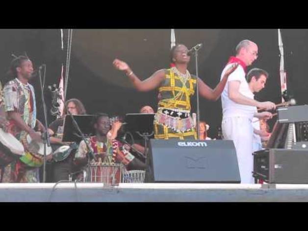 Primer concierto vermú de los Sanfermines 2013
