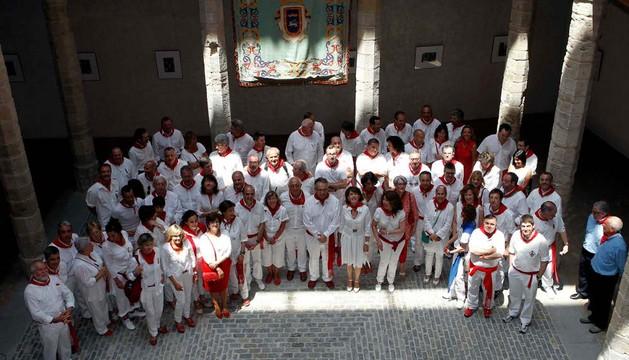 El día de las ciudades hermanas, en las fiestas de 2012