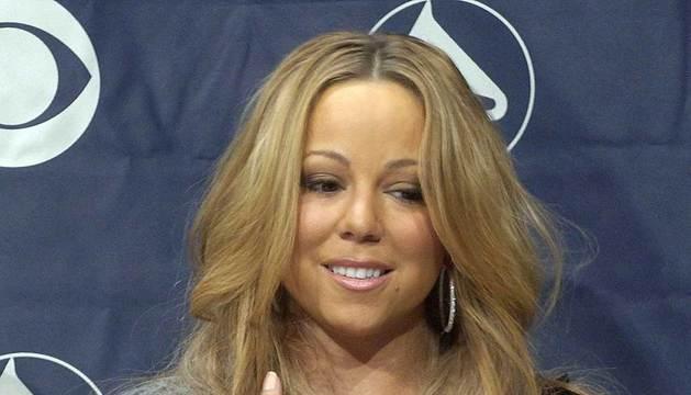 La cantante Mariah Carey, en 2005.