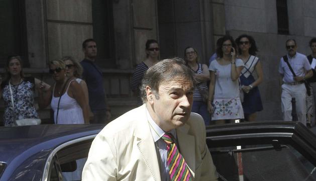 El director de El Mundo Pedro J. Ramírez, a su llegada a la Audiencia Nacional
