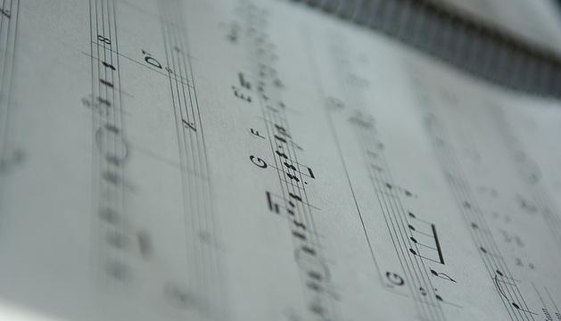 Una partitura musical.