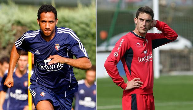 Manu Onwu y Roberto Torres.