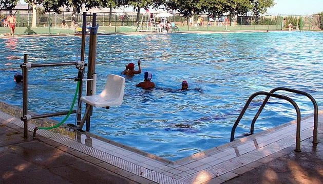 Las piscinas de Ribaforada