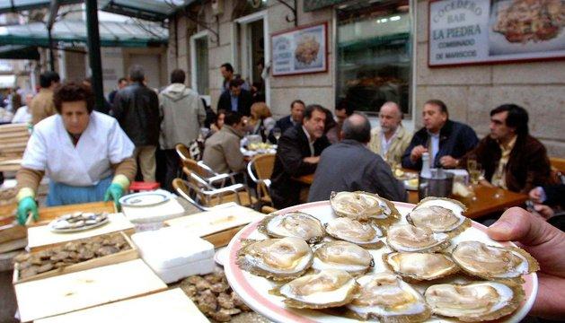Mercado de La Piedra, en Vigo