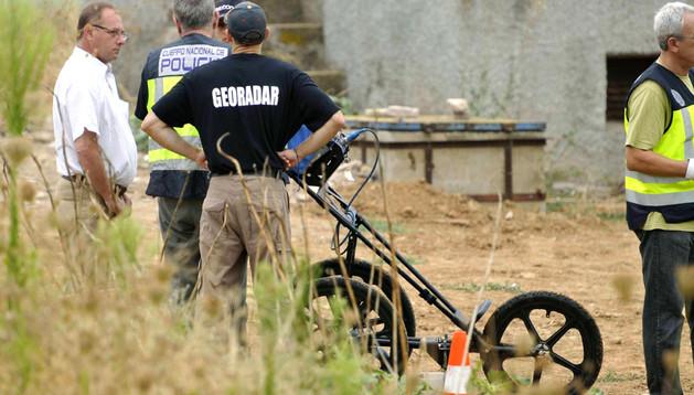 La Policía Nacional emplea un georradar para intentar localizar el cuerpo de Marta del Castillo
