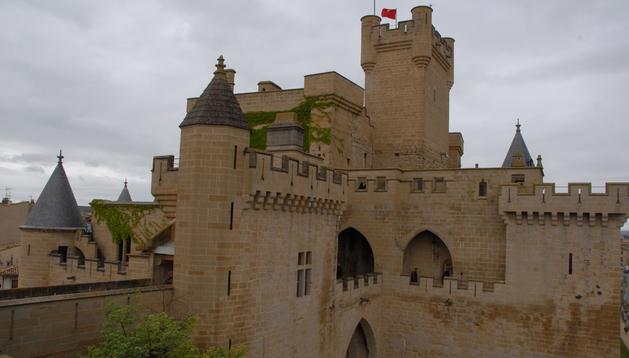 El Palacio Real de Olite.
