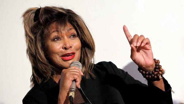 La cantante estadounidense Tina Turner.