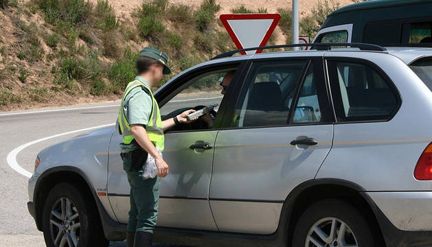 Control De Alcoholemia Guardia Civil.