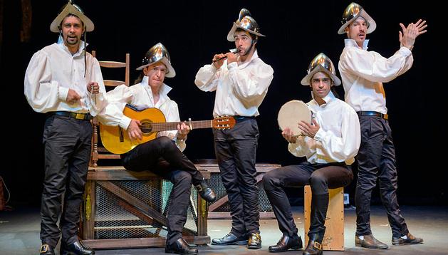 Escena del espectáculo Siglo de Oro, siglo de Ahora (Folía).