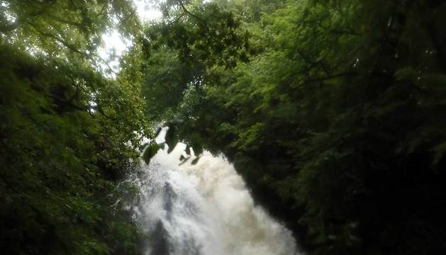 La cascada de Xorroxin.