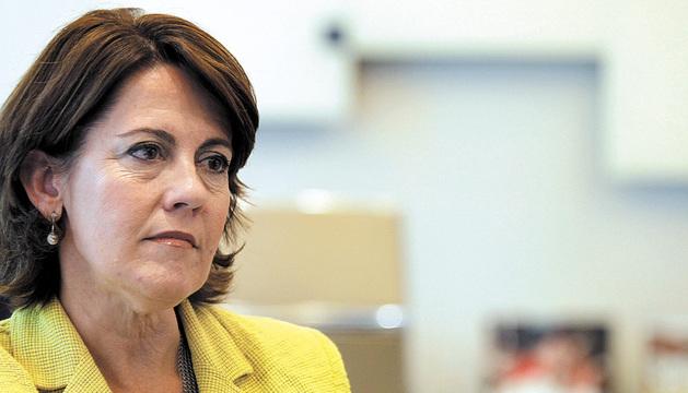 Yolanda Barcina, presidenta del Gobierno de Navarra, en una imagen reciente.