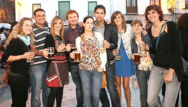 Día de la cerveza en 2012.