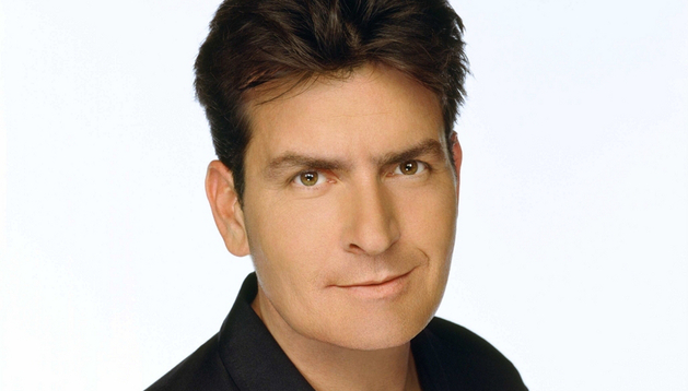 El actor Charlie Sheen.