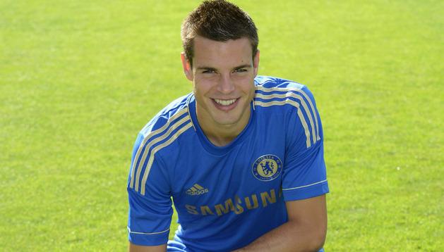 César Azpilicueta, jugador del Chelsea