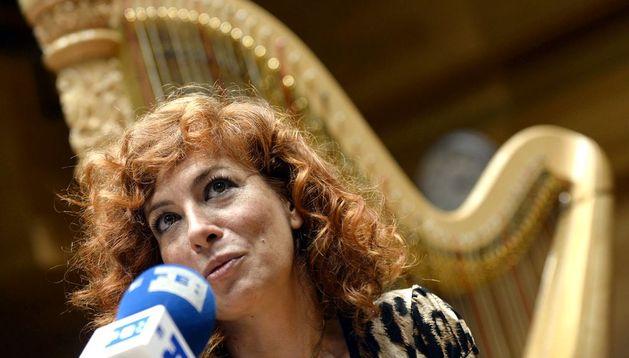 La soprano, compositora y directora de orquesta madrileña Pilar Jurado.