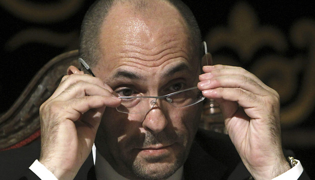 El juez Elpidio José Silva instruye el caso contra el expresidente de Caja Madrid Miguel Blesa.