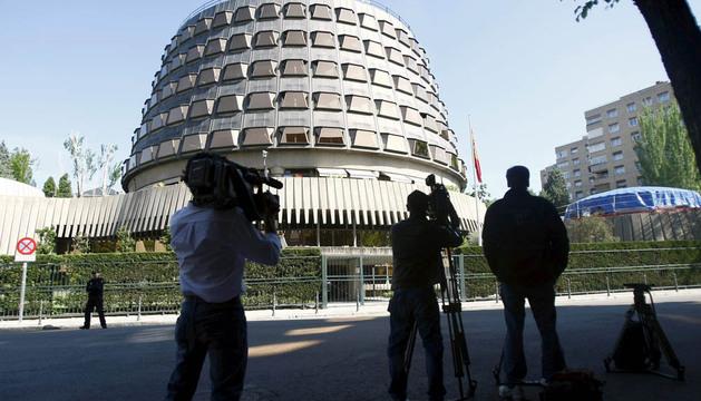 En la imagen, la sede del Tribunal Constitucional, en Madrid