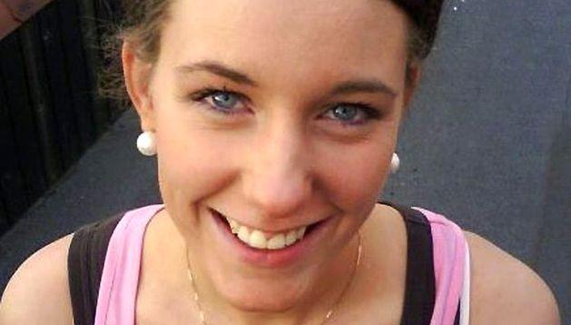 La joven noruega Marte Deborah Dalelv, de 24 años.