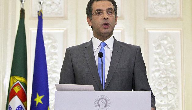 António José Seguro, líder de la oposición.