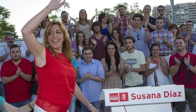 Susana Díaz, en un acto público celebrado esta semana en Sevilla