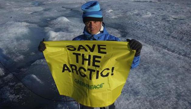 Alejandro Sanz en el Ártico