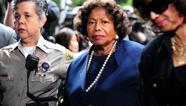 La madre de Michael Jackson, en el tribunal el pasado 19 de julio.