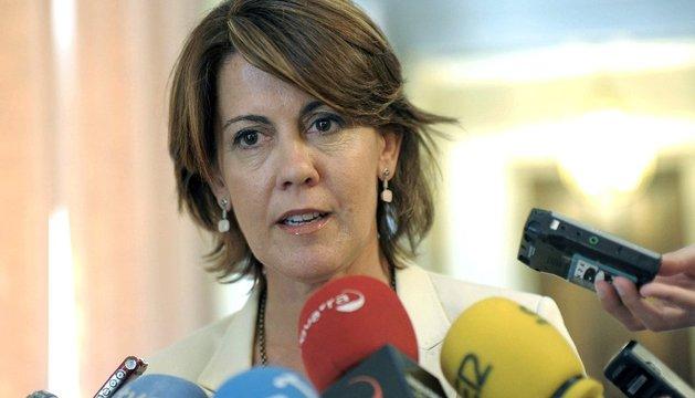 Fotografía de archivo (17/07/2013) de la presidenta del Gobierno de Navarra, Yolanda Barcina