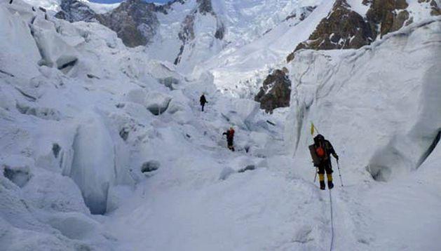 Imagen tomada del blog del montañero desaparecido Abel Alonso.