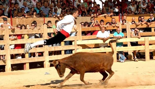Fiesta de la Vaca Brava en 2012.