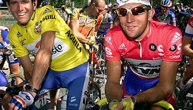 Abraham Olano y Jeroen Blijlevens, dos de los corredores que se doparon con EPO en el Tour del 98, según Le Monde