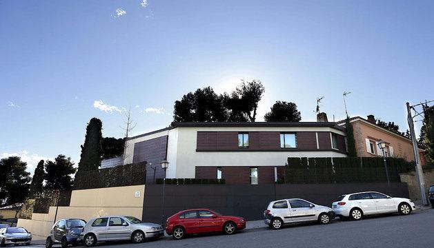 El 'palacete' de Pedralbes, vivienda de Urdangarin y la infanta Cristina.