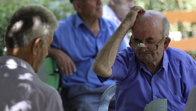 La pensión media en Navarra es de 947,57 euros, con un crecimiento del 3,4%  respecto a julio de 2012.