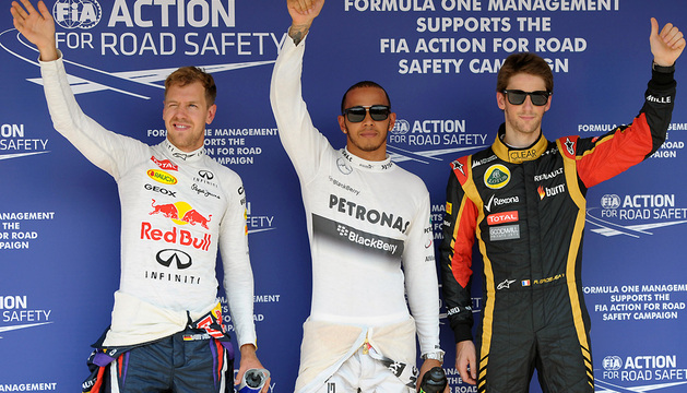 Sebastian Vettel, durante la jornada de entrenamientos del GP de Hungría.